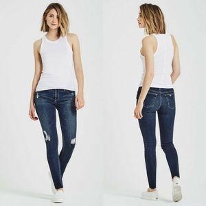 AG Legging Super Skinny Interim Destroyed Jeans 26